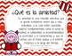 Freebie Valoramos la amistad (Valentine's Day Spanish)