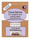 Freebie!  Visual Recipe: Fruit Sushi
