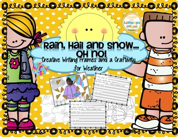 Freebie:  Weather Rain, Hail and Snow...OH NO!