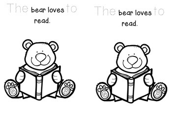 Freebie! Who Loves to Read? Emergent Reader