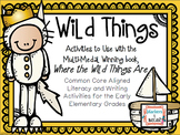 """Freebie! Wild Things- Literacy Mini Unit for """"Where The Wi"""