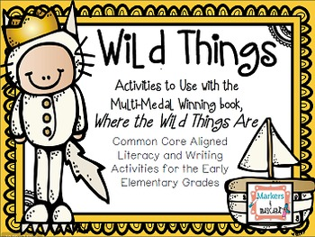 "Freebie! Wild Things- Literacy Mini Unit for ""Where The Wi"