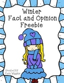 Freebie: Winter Facts and Opinions