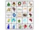 Winter Holidays Bingo 25 Different Cards