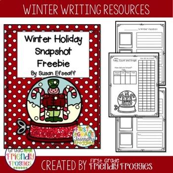 Freebie - Winter Vacation Snapshot