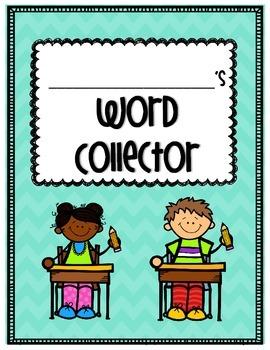 Freebie- Word Collector (vocab Journal)