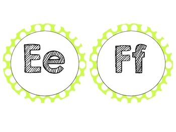 Freebie! Word Wall Labels