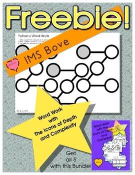 Freebie: Word Work with Patterns