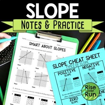 Slope Practice Worksheet