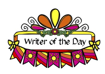 Freebie 'Writer of the Day' sign