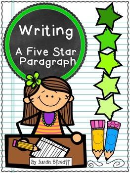 Freebie - Writing a 5 Star Opinion Paragraph