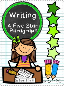 Freebie - Writing a 5 Star Opinion Paragraph