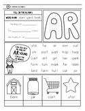 Freebie -ar worksheet