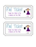 Freebie! iPad Ticket