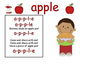 """Freebie- song for the word """"Apple"""""""