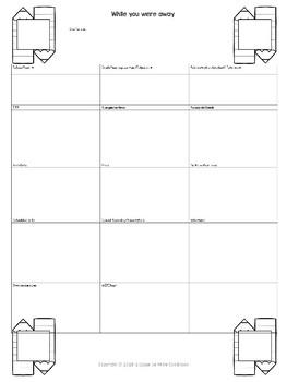 Supply teacher note - FREE