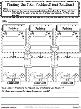 Freebie...Finding Problems and Solutions During Reading