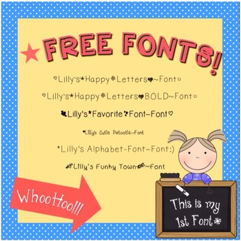 Freebie~LillyFonts 1