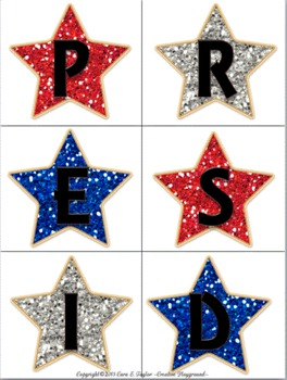 Freebie~President's Day Thematic Kit