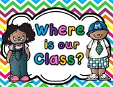 ~Freebie~Where is our Class Sign