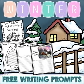 {Freebie} Winter Writing Prompts Sampler