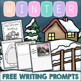 {Freebie} Winter Writing Prompts Sampler