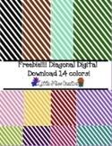 Freebies Diagonal digital paper