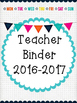 Freebies: Teacher & Substitute Binder Covers and Monthly C