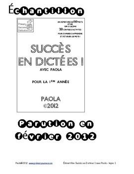 Freebies and Sample - Succès en Dictée 1