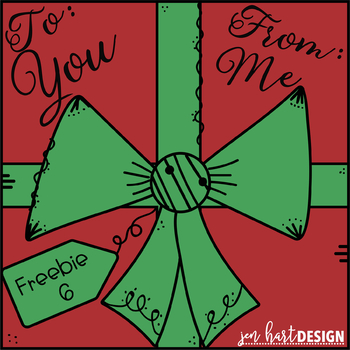 Freebies for the Holidays - Day 6 {jen hart Clip Art}