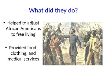 Freedmen's Bureau Presentation