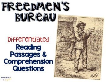 Freedmen's Bureau Reading Passages Leveled Texts