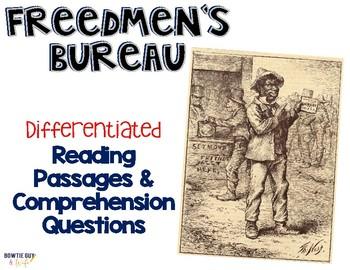Freedmen's Bureau Reading Passages Leveled Texts