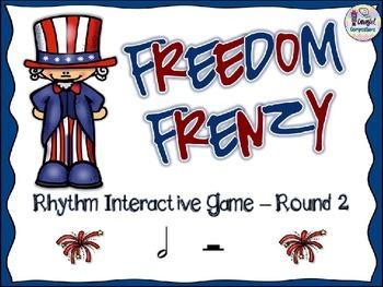Freedom Frenzy - Round 2 (Half Note/Half Rest)
