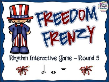 Freedom Frenzy - Round 5 (Dotted Half Note and Whole Note/Rest)