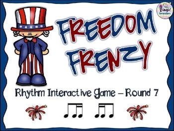 Freedom Frenzy - Round 7 (Ti-Tika and Tika-Ti)