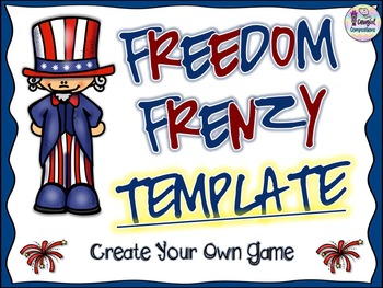 Freedom Frenzy Template - Create Your Own Game