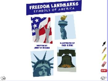 Freedom Landmarks - ActivInspire Flipchart