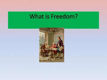 Freedom Powerpoint