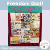 Black History Freedom Quilt