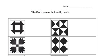 Freedom Quilt Symbols