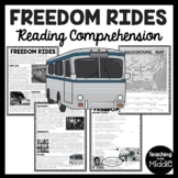 Freedom Rides Reading Comprehension Worksheet Civil Rights Movement