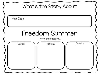 Freedom  Summer ~ 41 pgs. Common Core Activities