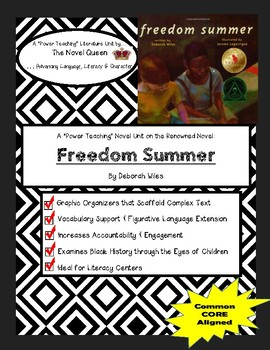 Freedom Summer Literature Unit