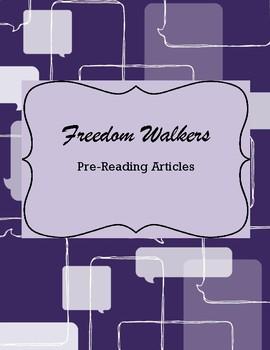 Freedom Walkers Pre-Reading Activities