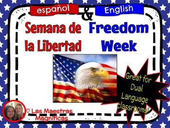 Freedom Week English-Spanish bundle