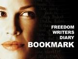 Freedom Writers Bookmark Activity