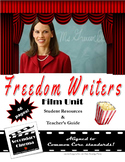 Freedom Writers Film Unit: Common Core-Aligned Assignments
