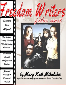 "main characters of freedom writers Freedom writers is a drama movie based on the book ""the freedom writers diary"" written by the freedom writers with erin gruwell  the main characters are ."