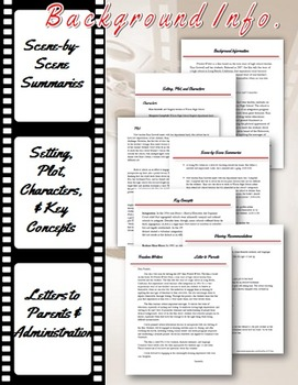 """Freedom Writers"" Film Unit: Character Development, Research, & More!"